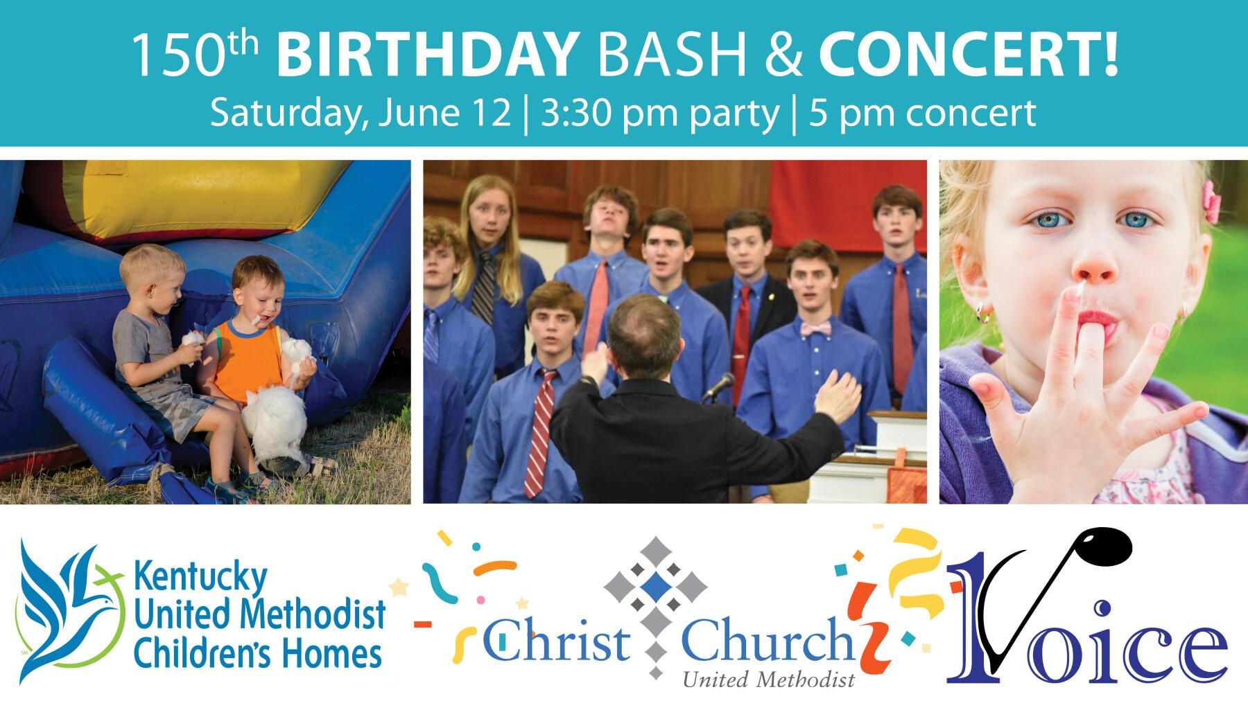 KY United Methodist Children's Homes 150th Birthday Bash